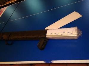 конструкция ролл-ап в чехле для переноски